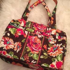 Vera Bradley Satchel Bag *retired print*